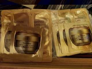 Tonymoly intense care snail cream for face and eye x 各12包