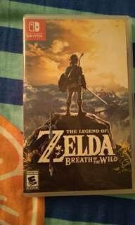 Nintendo Switch Zelda BOTW