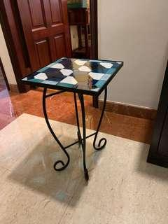 Stain glass top Patio Table
