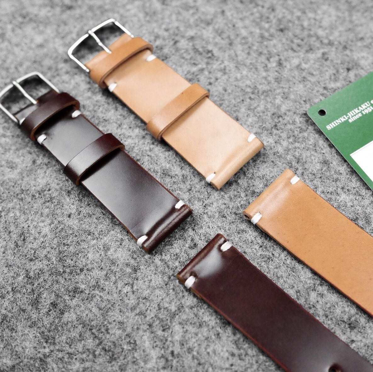 fc803771c Shell Cordovan Watch Straps, Luxury, Watches on Carousell