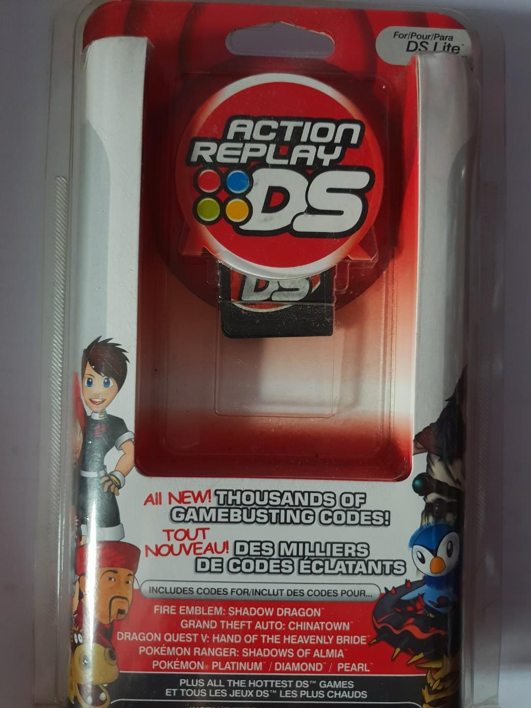 ACTION REPLAY DS FOR DS LITE AND DS, Toys & Games, Video