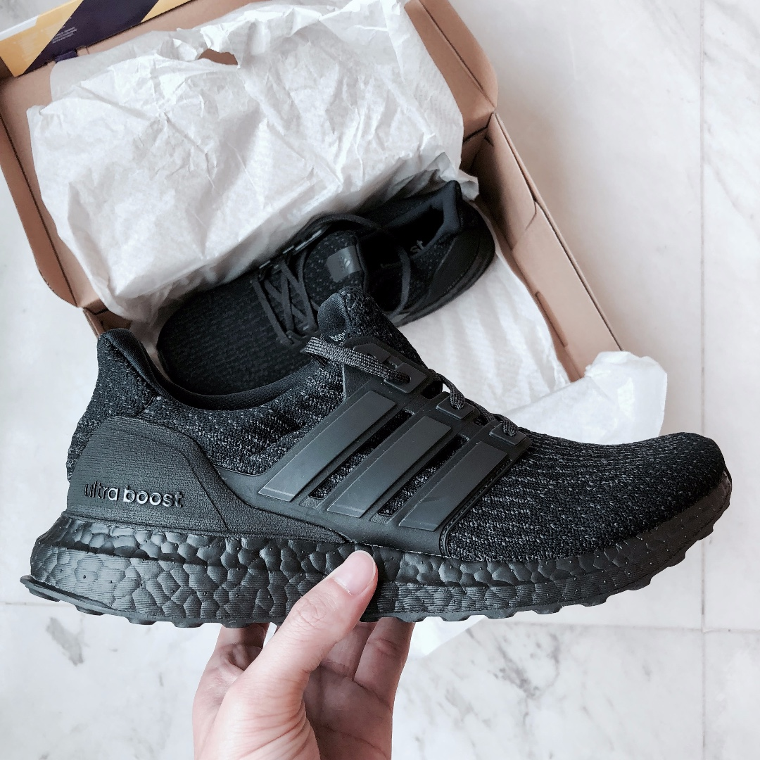169cf04b4 Adidas Ultra Boost Triple Black