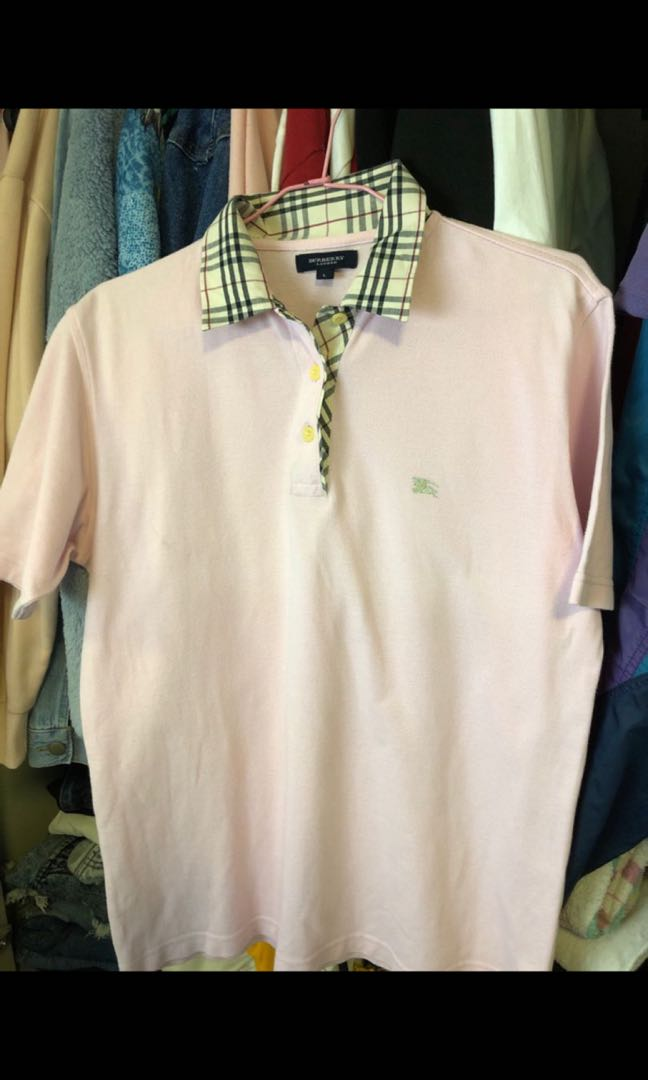 852f39eb Authentic Burberry Polo, Women's Fashion, Clothes, Tops on Carousell