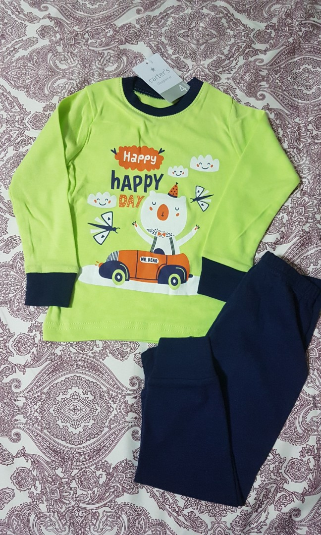 BNWT top Disney Cars Tshirt boys Pyjamas 100/% cotton t-shirt 3//4 pants size 4