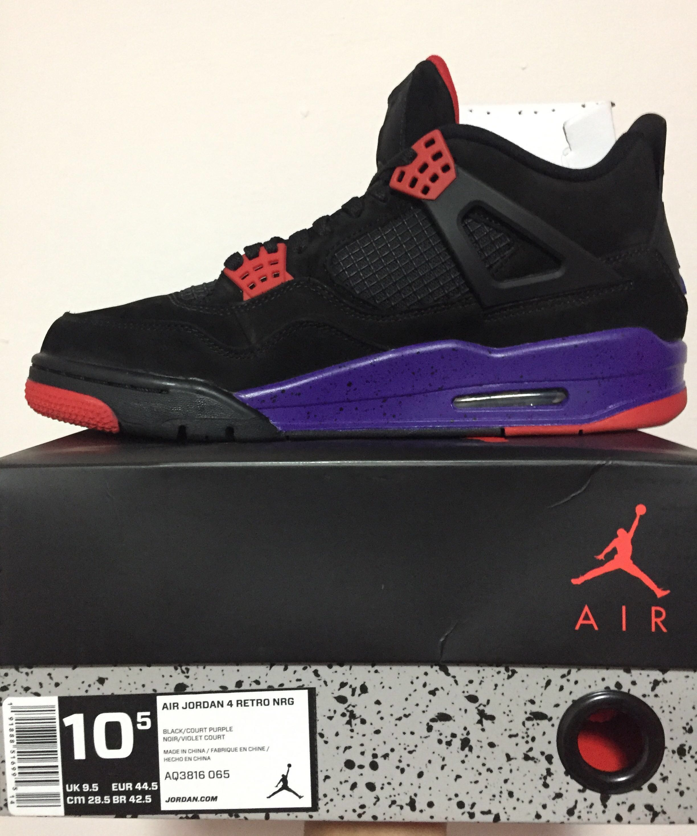 buy online 56d60 9044f BNDS AIR JORDAN 4 RAPTORS, Men s Fashion, Footwear, Sneakers on ...