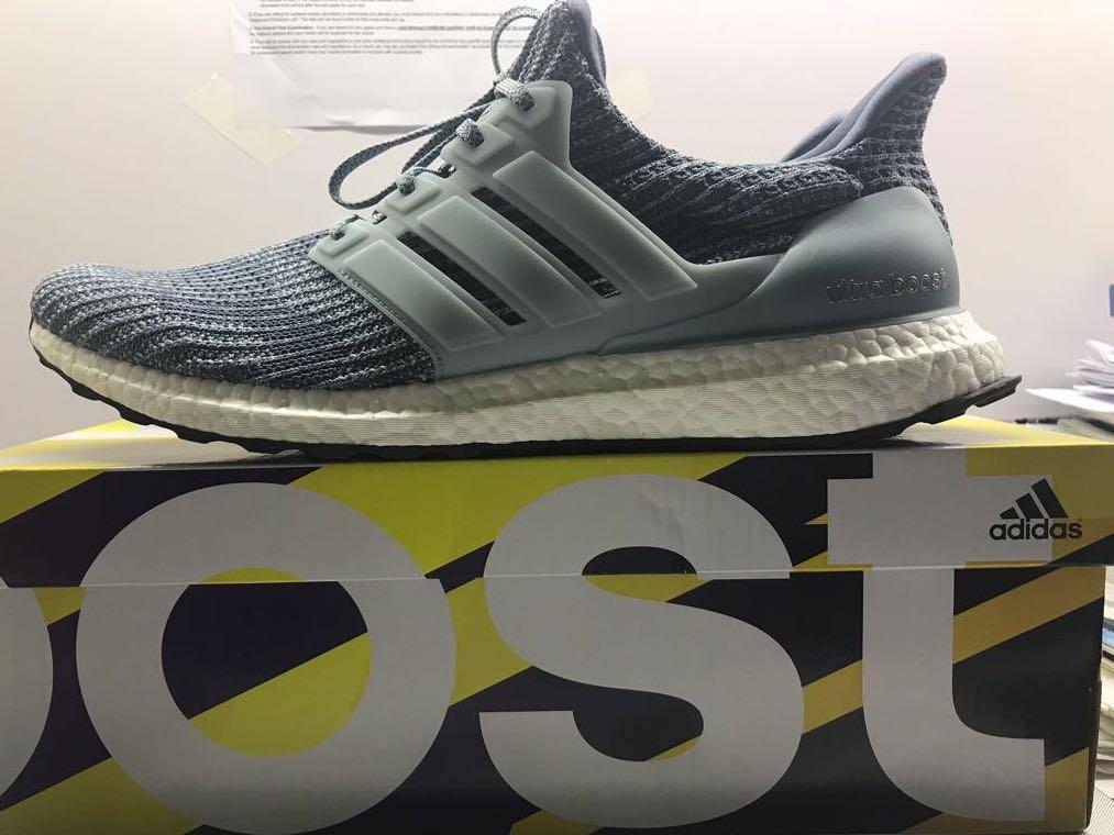90c7b81e5361d BNWT  Adidas Ultra Boost 4.0 Ash Grey