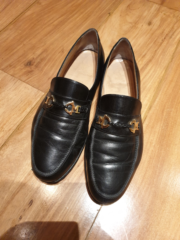 9f6941395d8 Bruno Magli ITALY Black Loafers Size 9