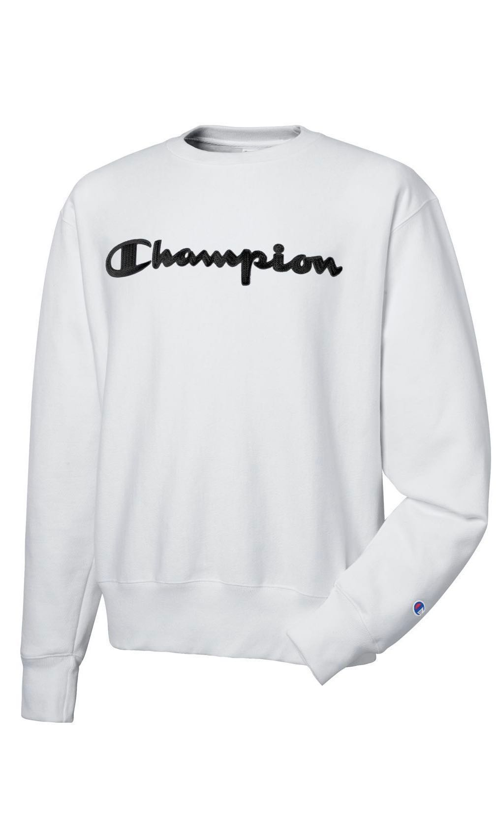 580e5b40f2f9 Champion Reverse Weave Script Logo Sweatshirt, Men's Fashion ...