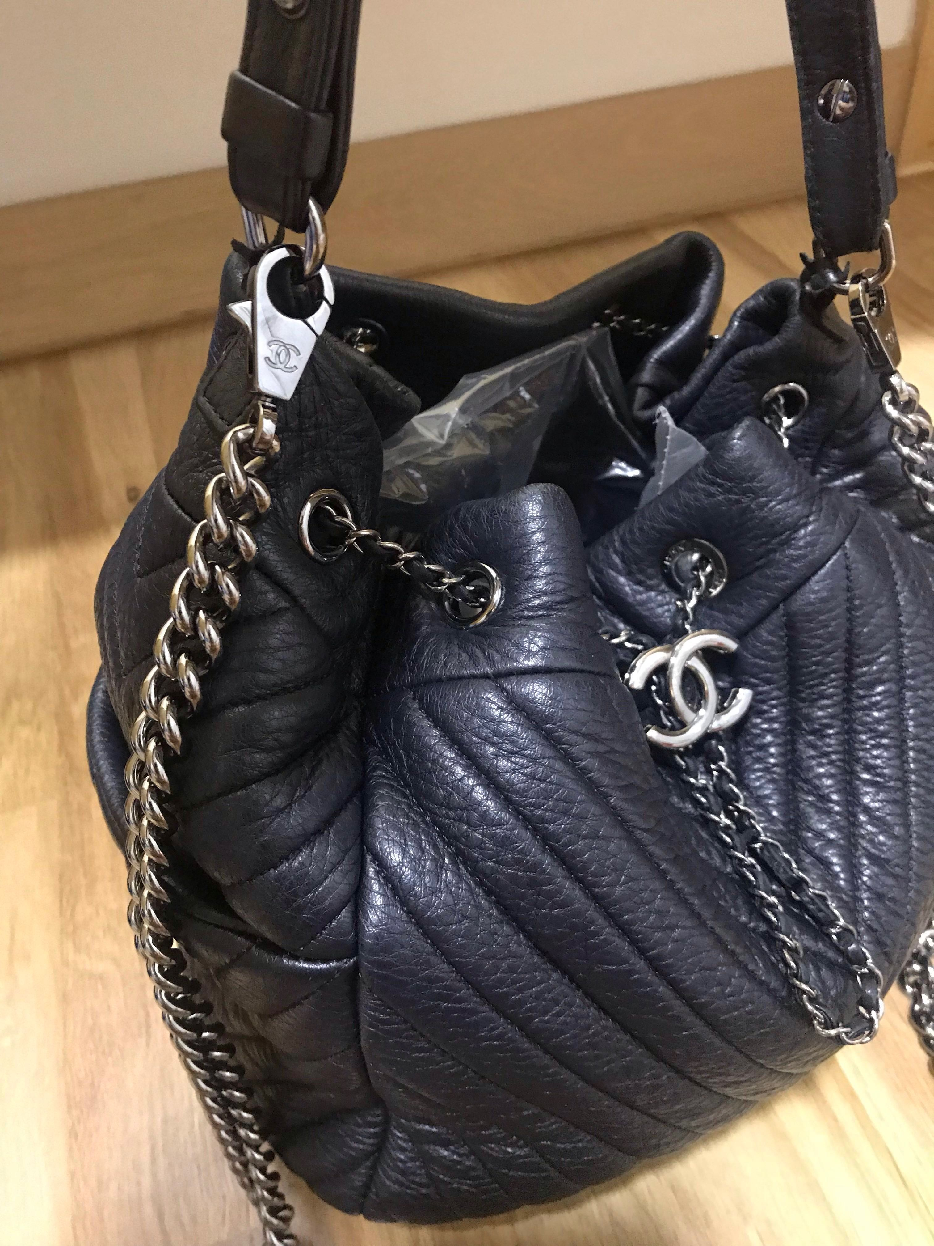0d0410fb4f60 Chanel Bucket Bag, Luxury, Bags & Wallets, Handbags on Carousell