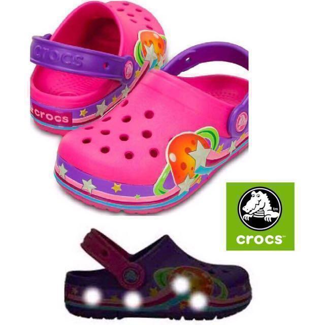 CrocsLights Galactic Clog Children