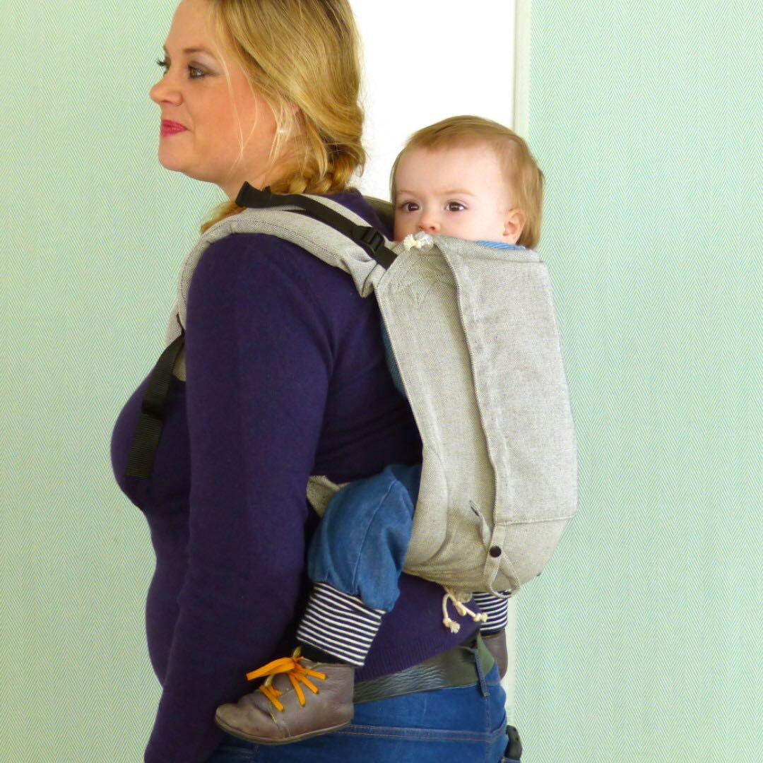 90789d0249f Didy Onbuhimo Silver by Didymos (buckle onbuhimo  baby carrier ...