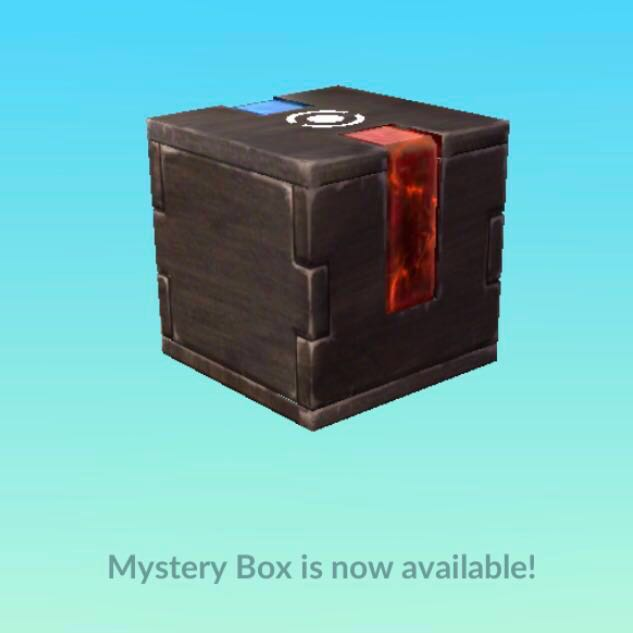 How to share mystery box in pokemon go