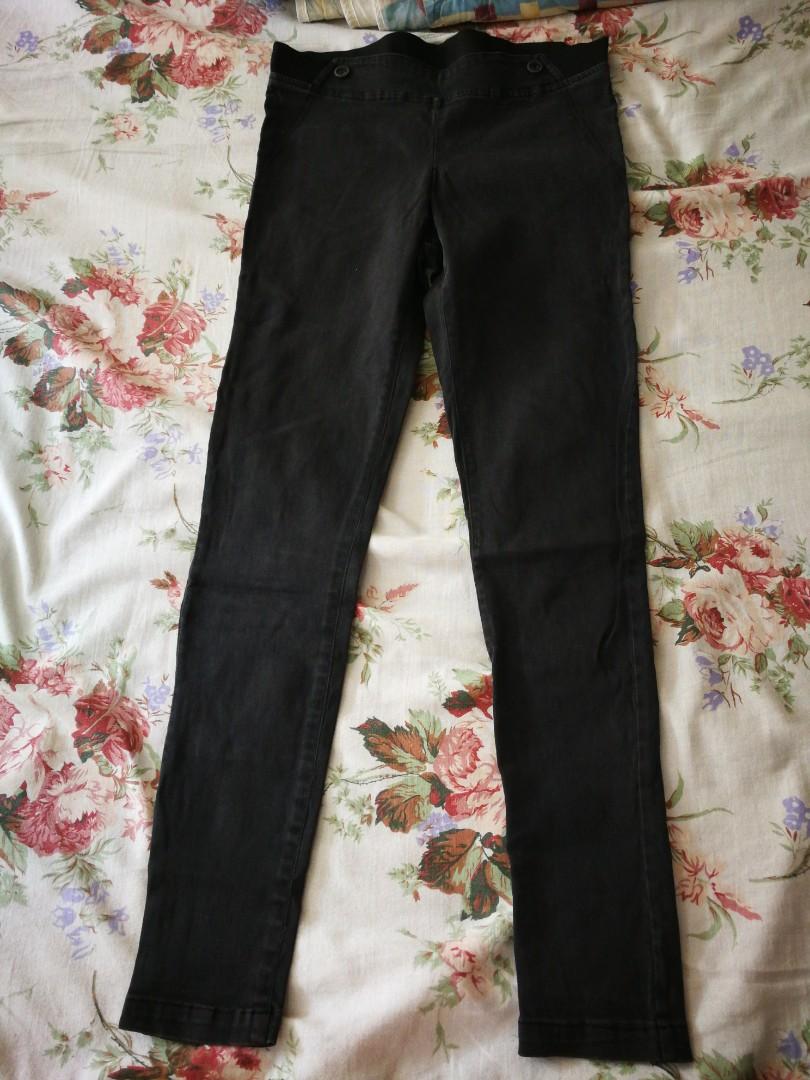 596c9c8c12a6a Faded Black jeggings, Women's Fashion, Clothes, Pants, Jeans ...