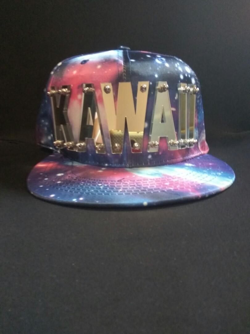 b0d2e992a63 Harajuku Japanese Style Anime Kawaii Snapback Cap Hat