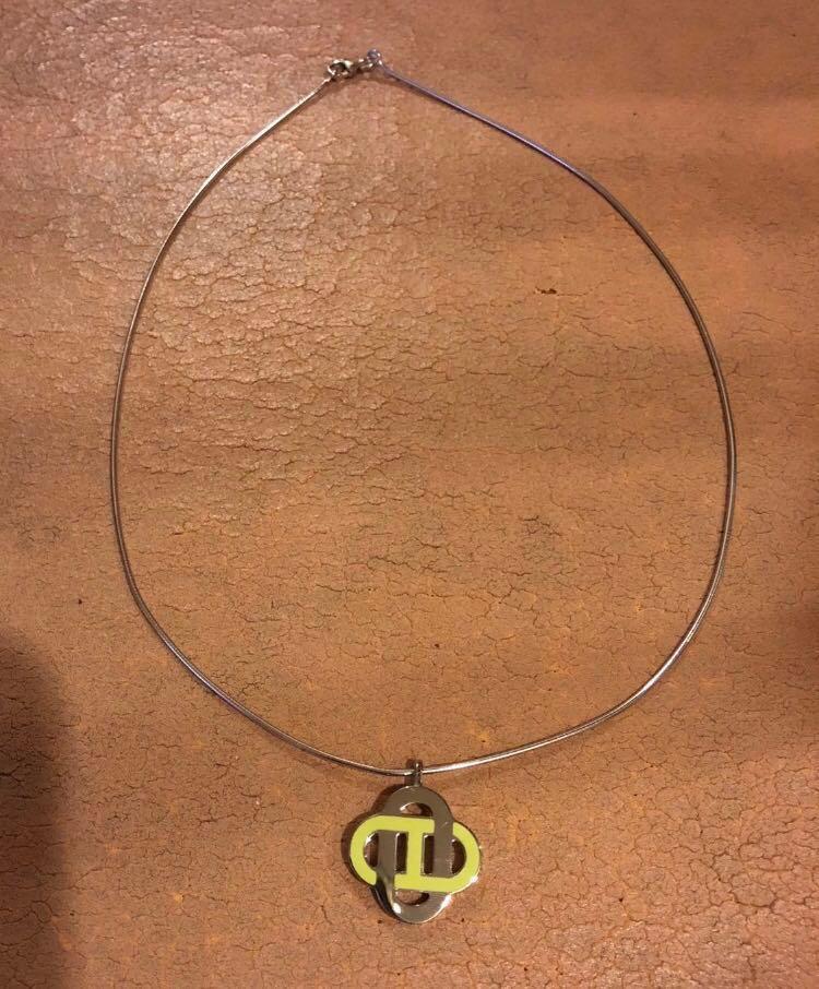 Hermes isatis necklace