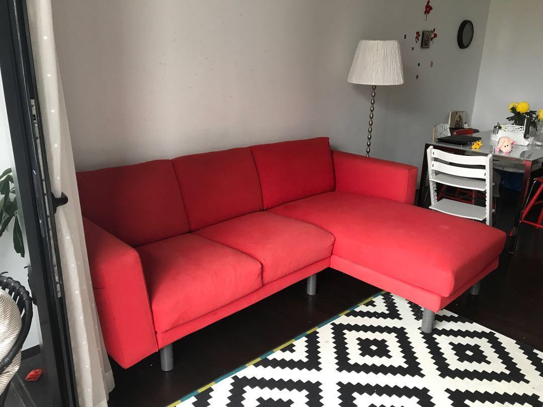 Terrific Ikea Norsborg Sofa Furniture Sofas On Carousell Machost Co Dining Chair Design Ideas Machostcouk