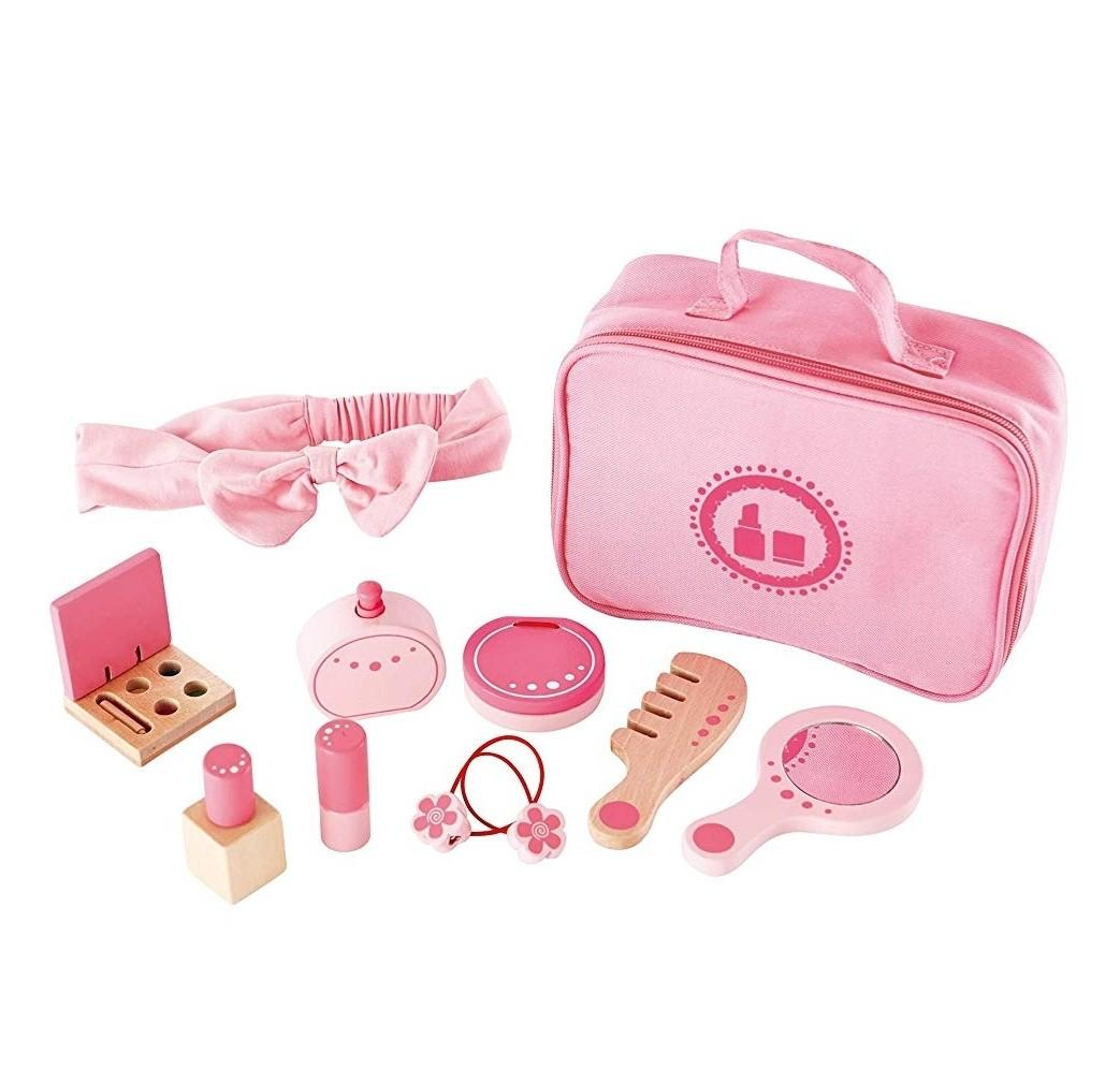 BN Hape Beauty Belongings Kid's Wooden Cosmetics MakeUp