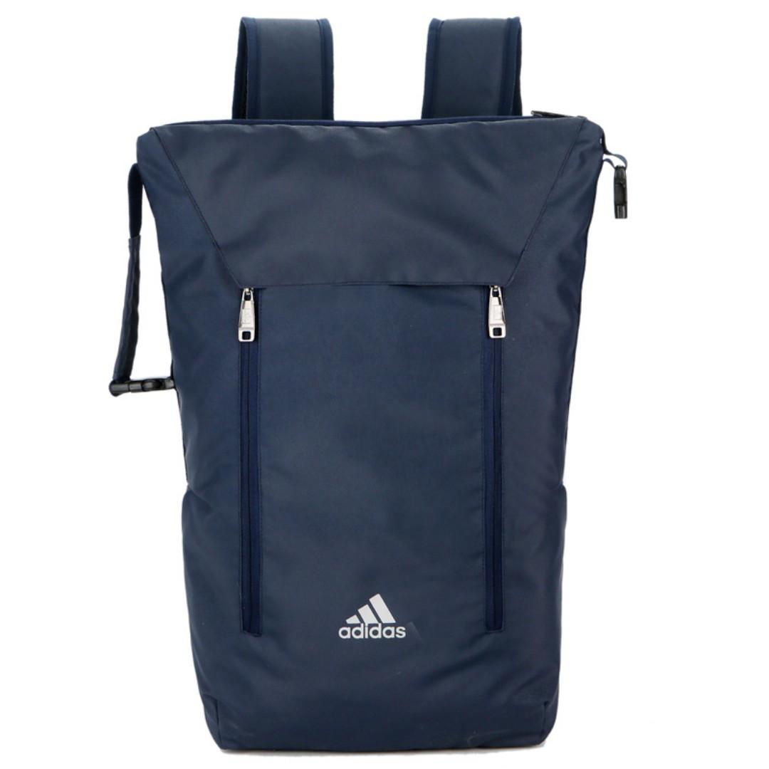Instock Adidas Waterproof Backpack Blue