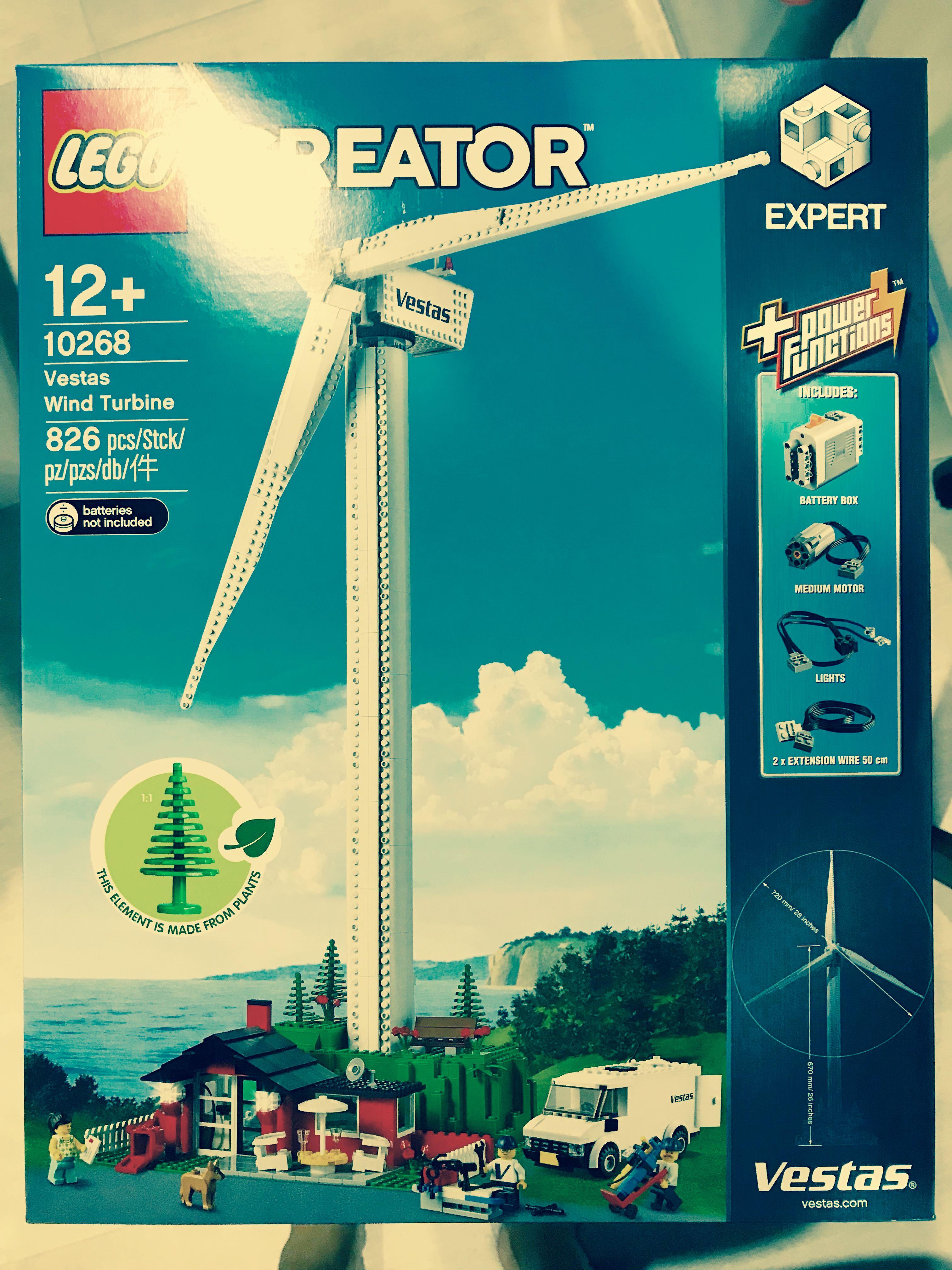 Lego 10268 Vestas Wind Turbine