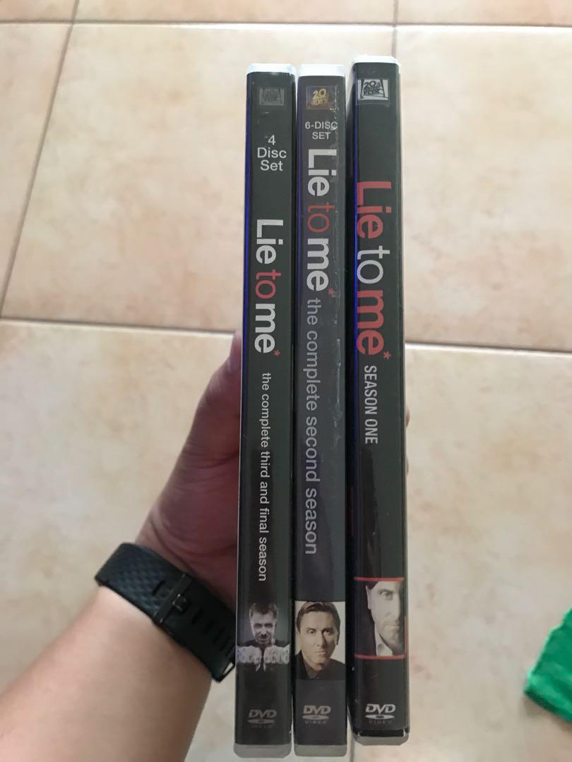 Lie to Me Complete Series Seasons 1-3 DVD Set