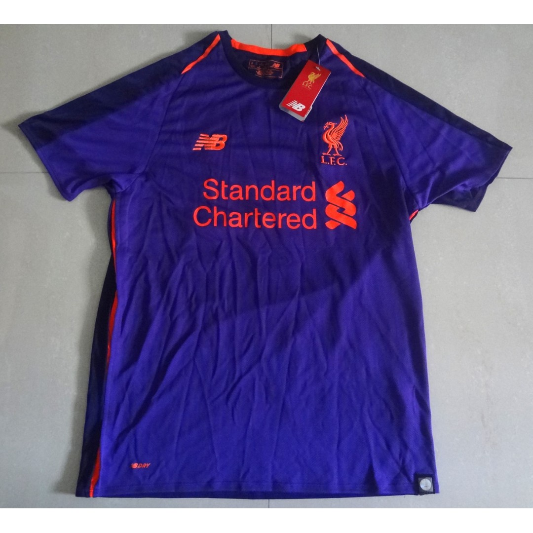 new product a3363 c613d Liverpool BNWT Away Jersey 18/19 Mohd Salah 11 READY STOCK ...
