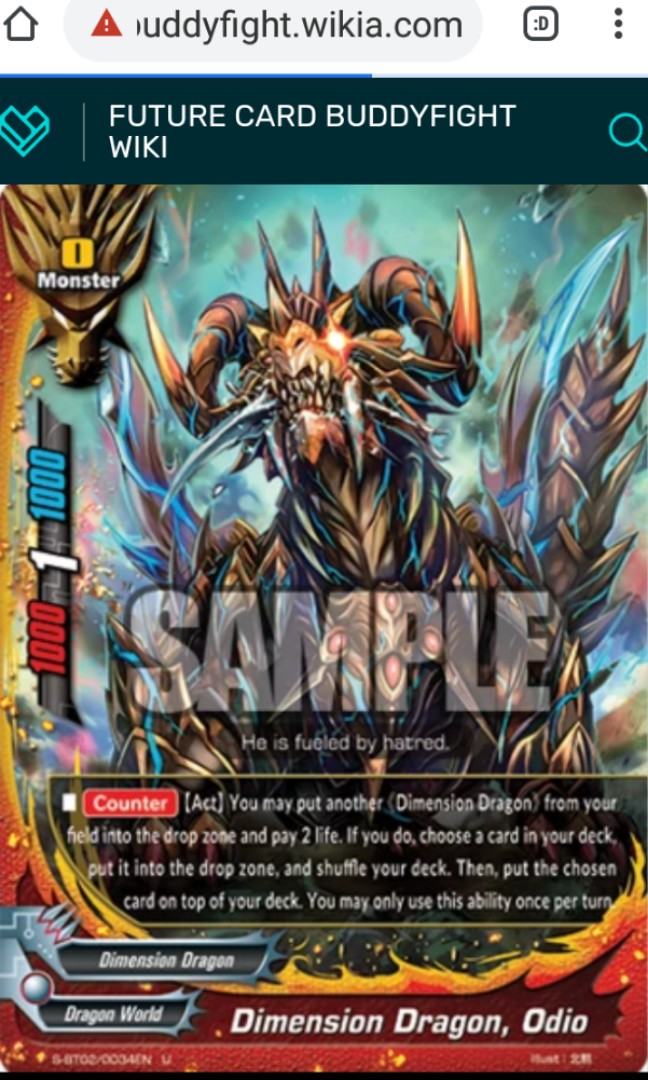 Looking For Buddyfight Toys Games Others On Carousell