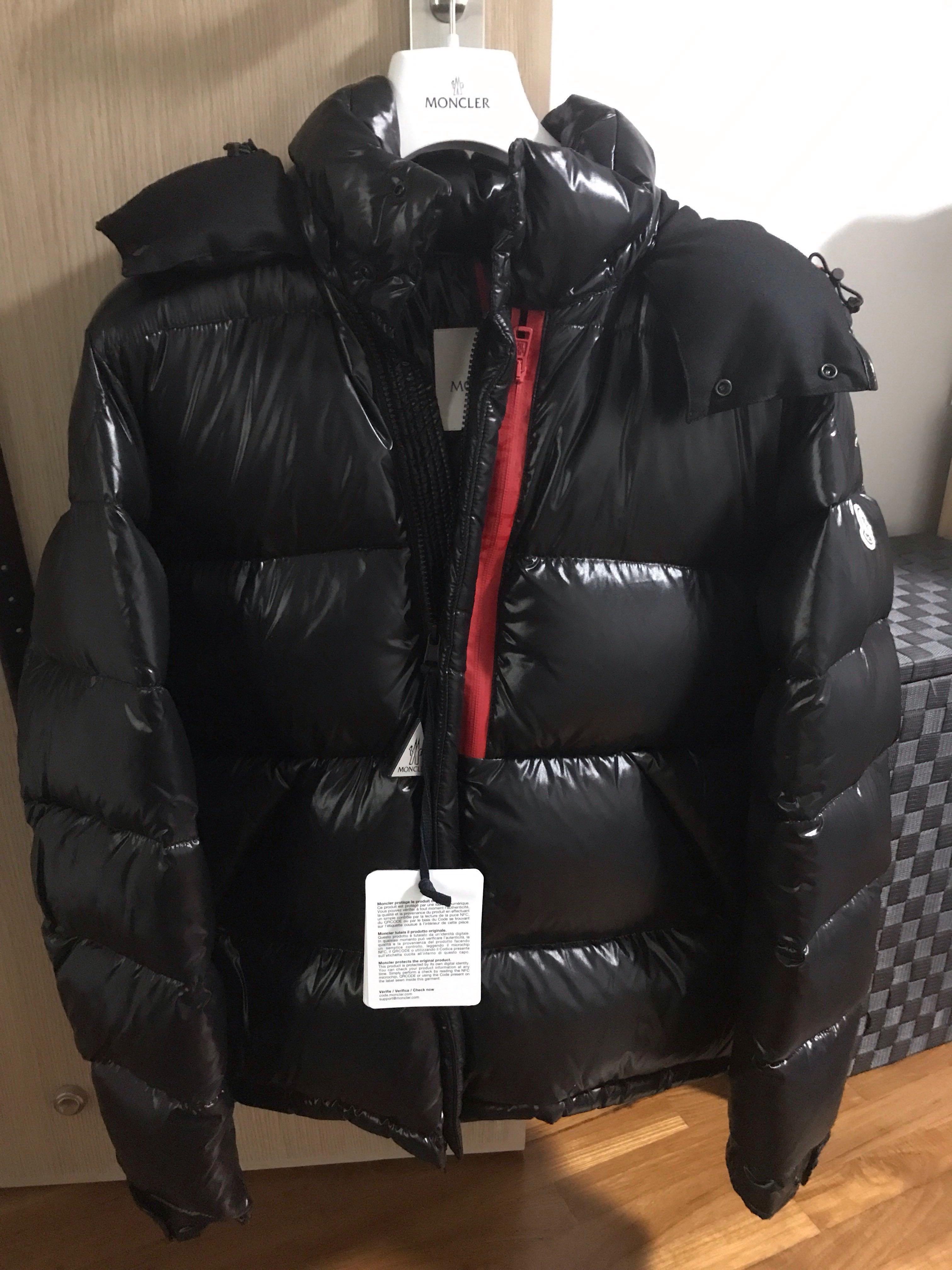 14ce639fb Moncler Marlioz down black jacket