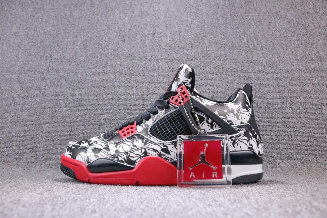 sale retailer bbb29 4b5ea Nike Air Jordan 4 Tattoo, Men s Fashion, Footwear, Sneakers on Carousell