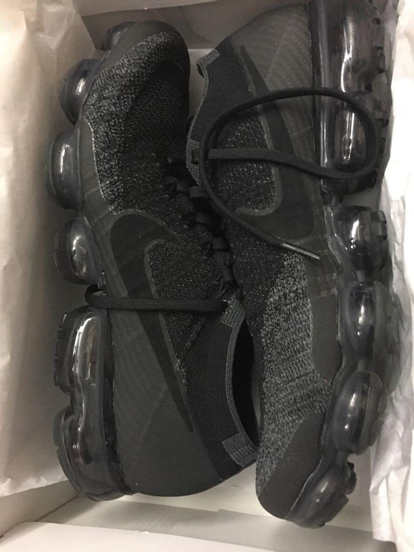 quality design fedfb b254a Nike air vapormax flyknit triple black 2.0 us12