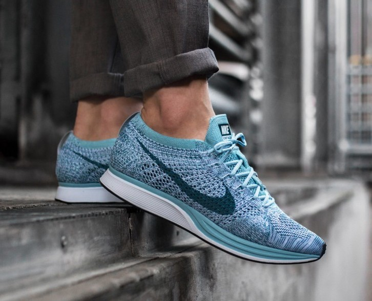reputable site 5ca8a 9c86f Nike Flyknit Racer Blueberry, Men s Fashion, Footwear, Sneakers on Carousell