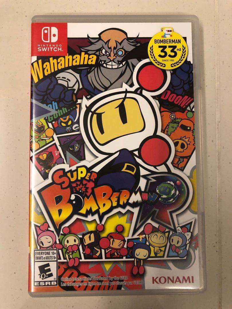 Nintendo switch Games (Bomberman/ Mario Kart/) on Carousell