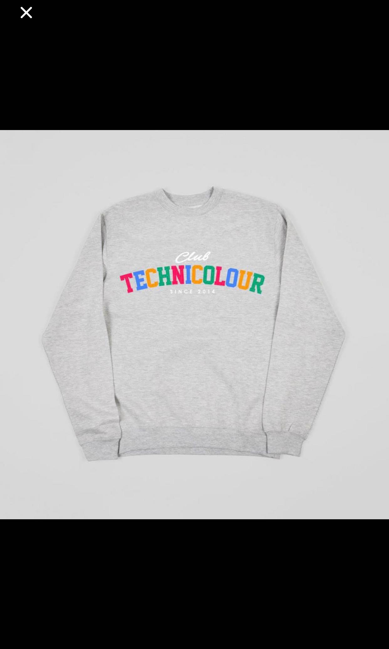 8aa4c7de9132 Oh Wonder Club Technicolour Sweater Pullover Merchandise, Men's ...