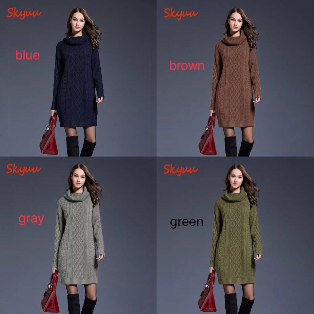 2d523a052b1 Long Sweater Dresses For Winter - Data Dynamic AG