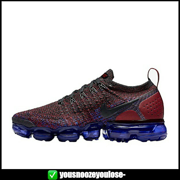 c0612e59dc7 PREORDER  NIKE AIR VAPORMAX FLYKNIT 2.0 TEAM RED   RACER BLUE ...