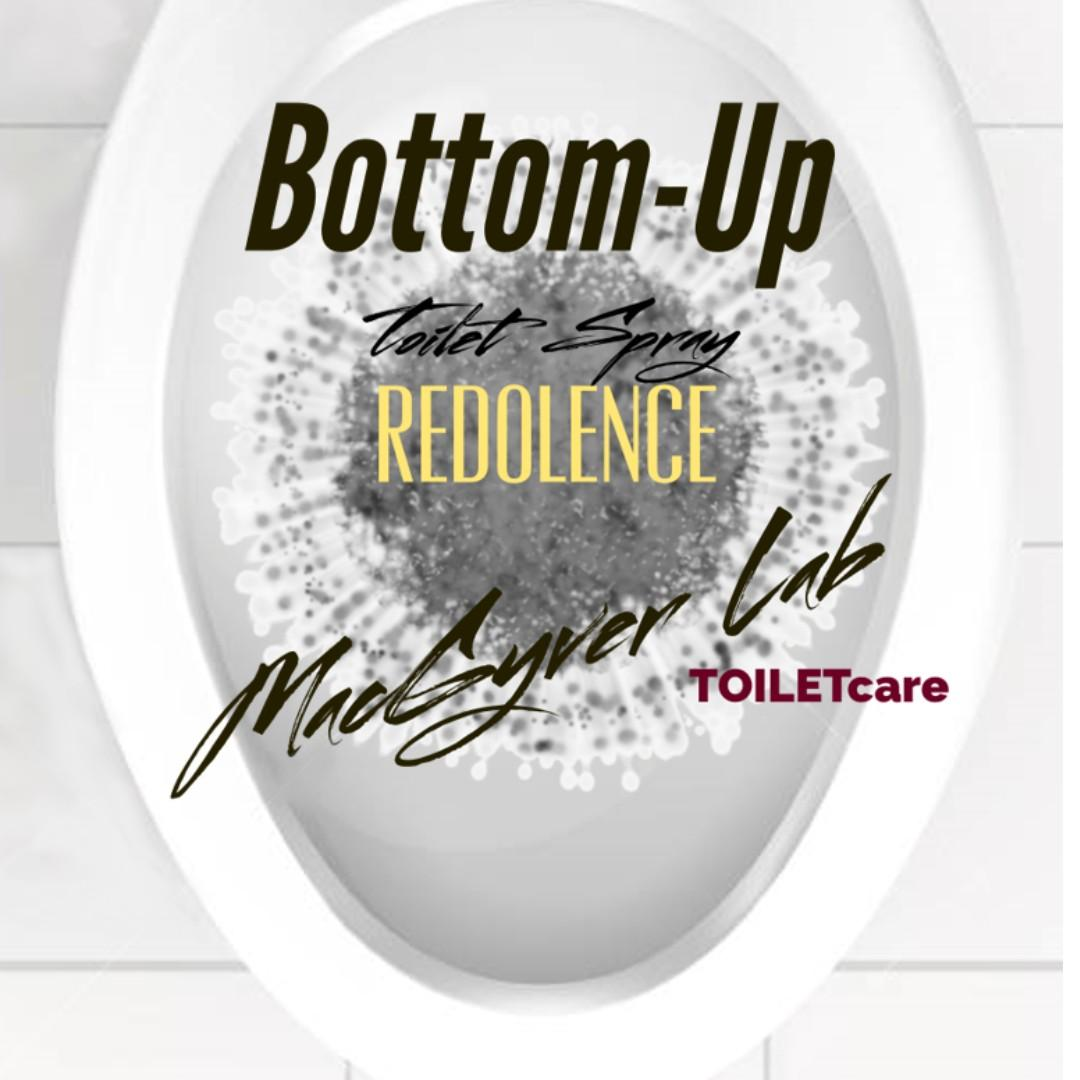 Redolence Bottom-Up Inverted Toilet Poo Sprayer 2.03 oz by MacGyver Lab with Pot Pourri Quality Premium Essential Oil Blends