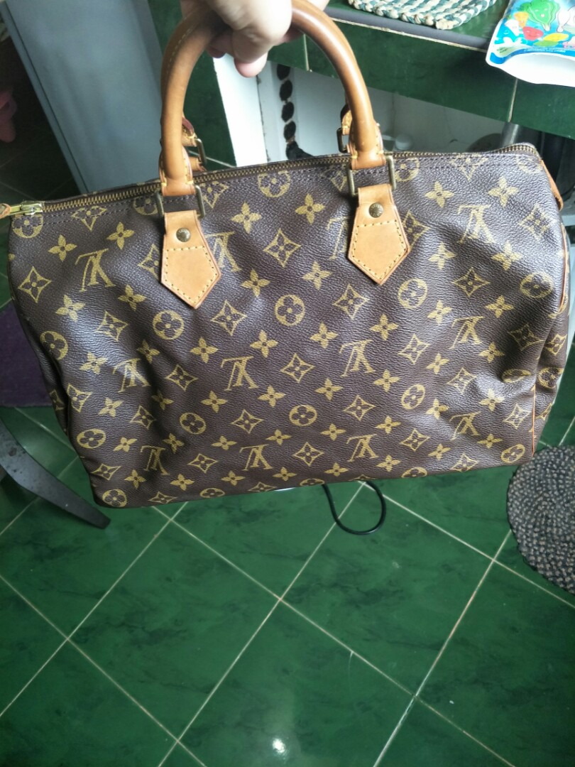 rush sale!! repriced! authentic louis vuitton speedy35 0b0e46d035ce8