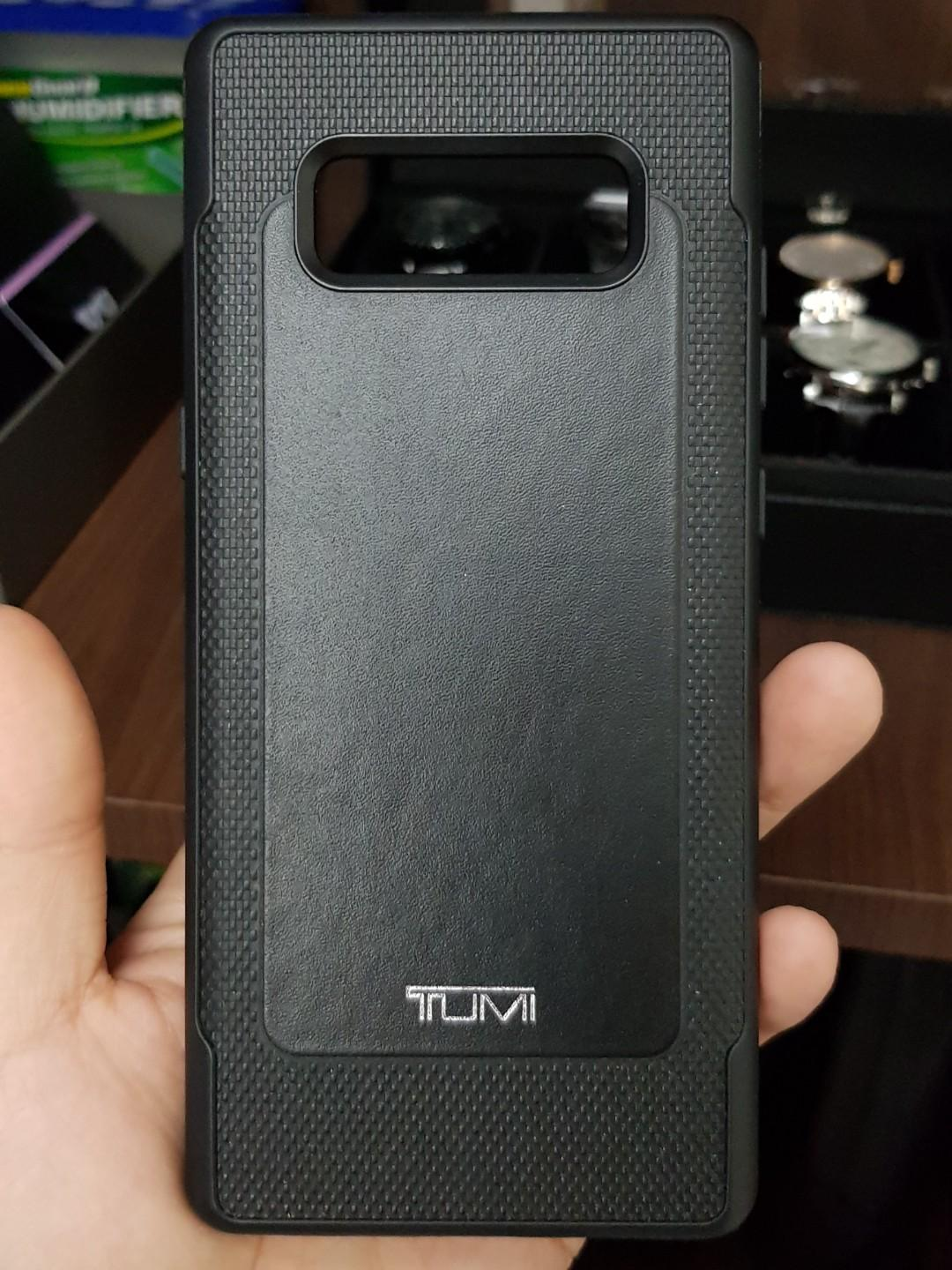 size 40 dad5a 89ee1 Samsung Galaxy Note 8 Tumi Leather Case on Carousell