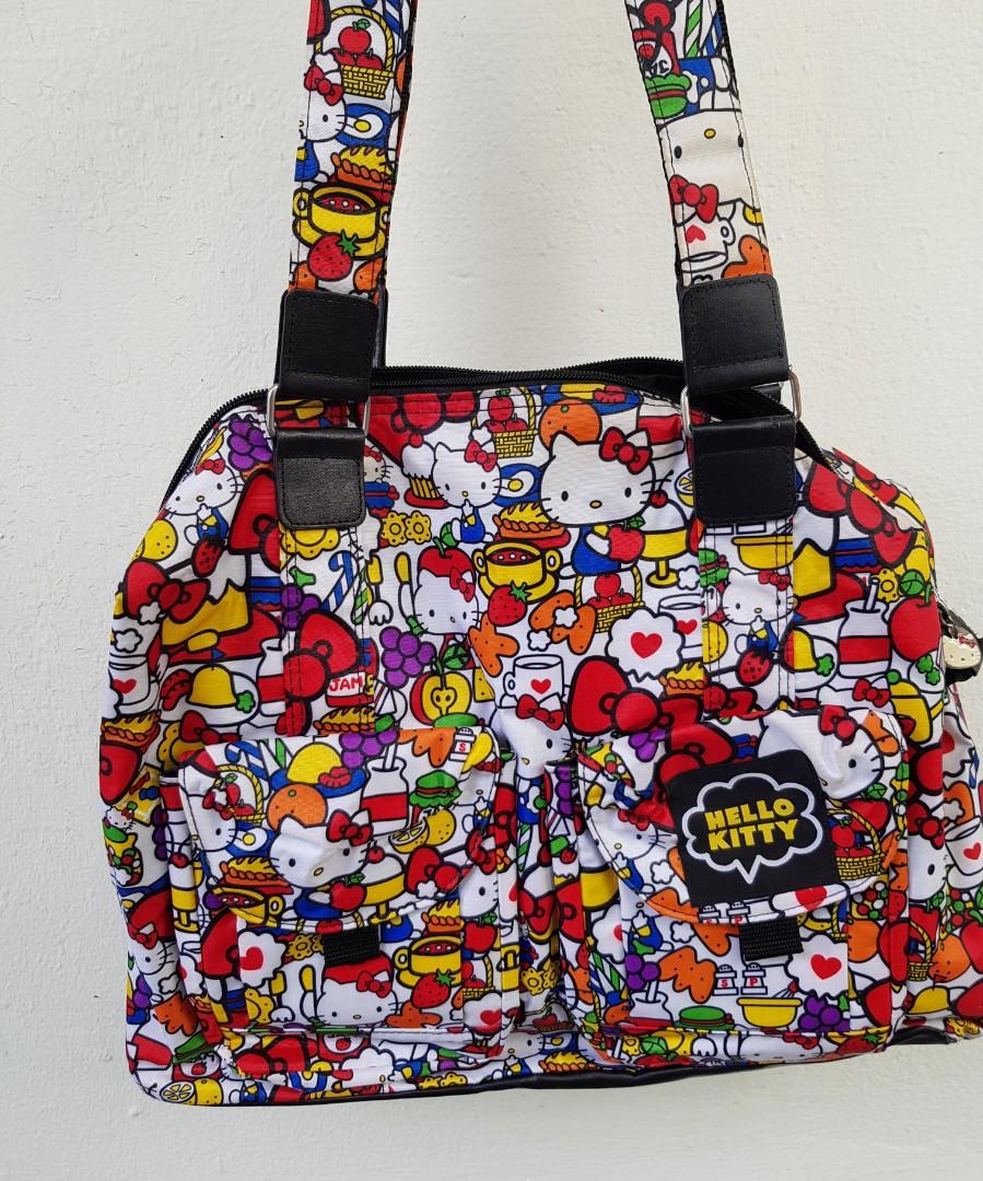 7802b7b60503 Sanrio hello kitty authentic jujube bag   Diaper Bag. Big shoulder ...