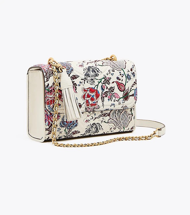 ♥ Tory Burch Fleming Printed Small Convertible Shoulder Bag ... 838ed9aaae98e