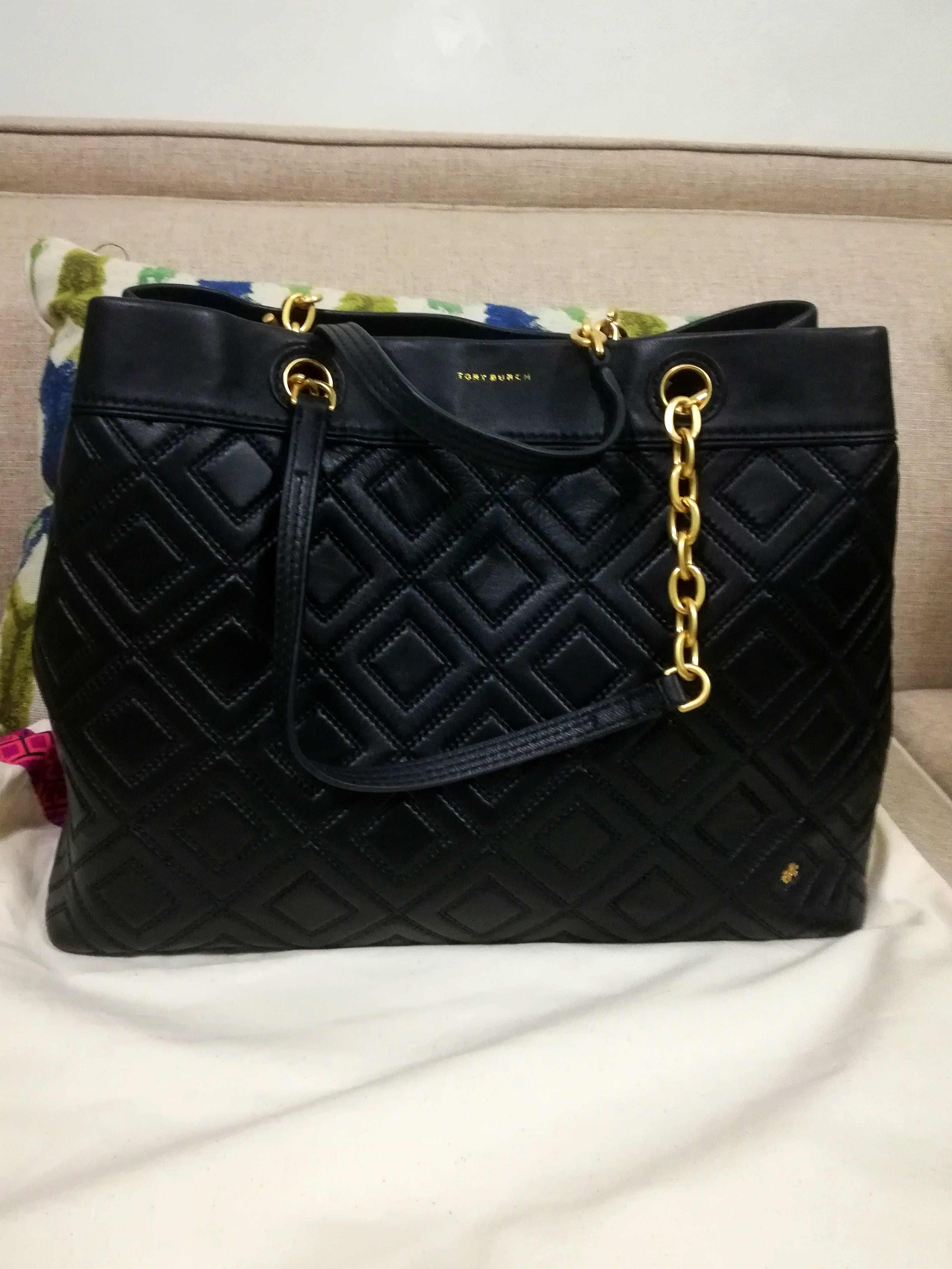 e6ee5601ed2b Tory Burch Fleming Tote Large (futher marked down)