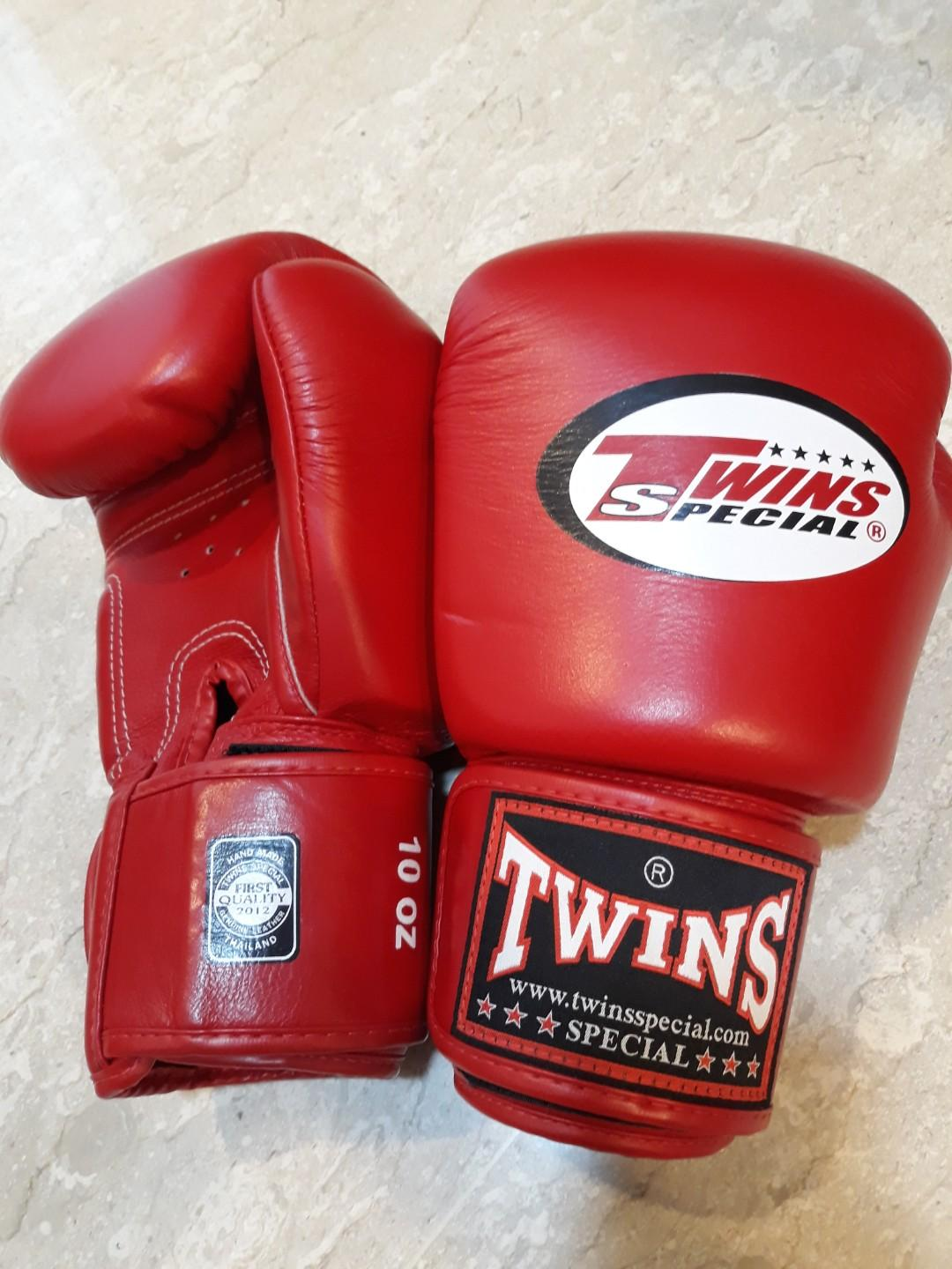 Twins Gloves 10oz, Sports, Sports & Games Equipment on Carousell