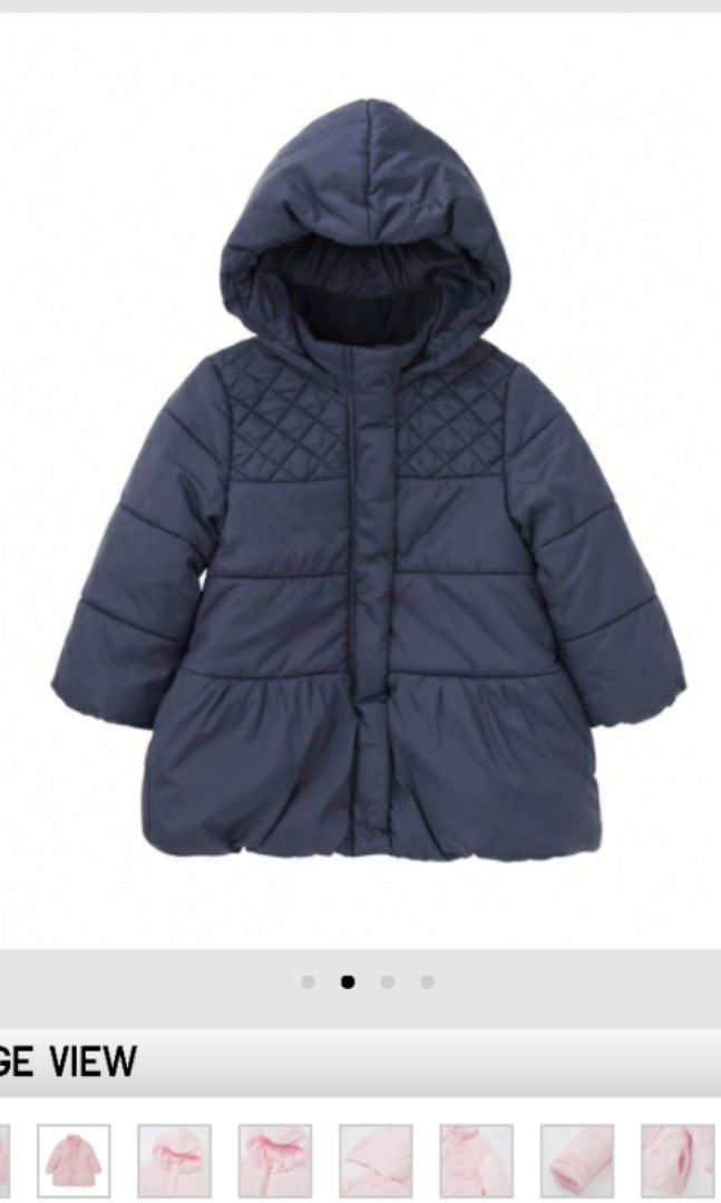 fd332d1a9 Uniqlo baby light warm padded coat for girls