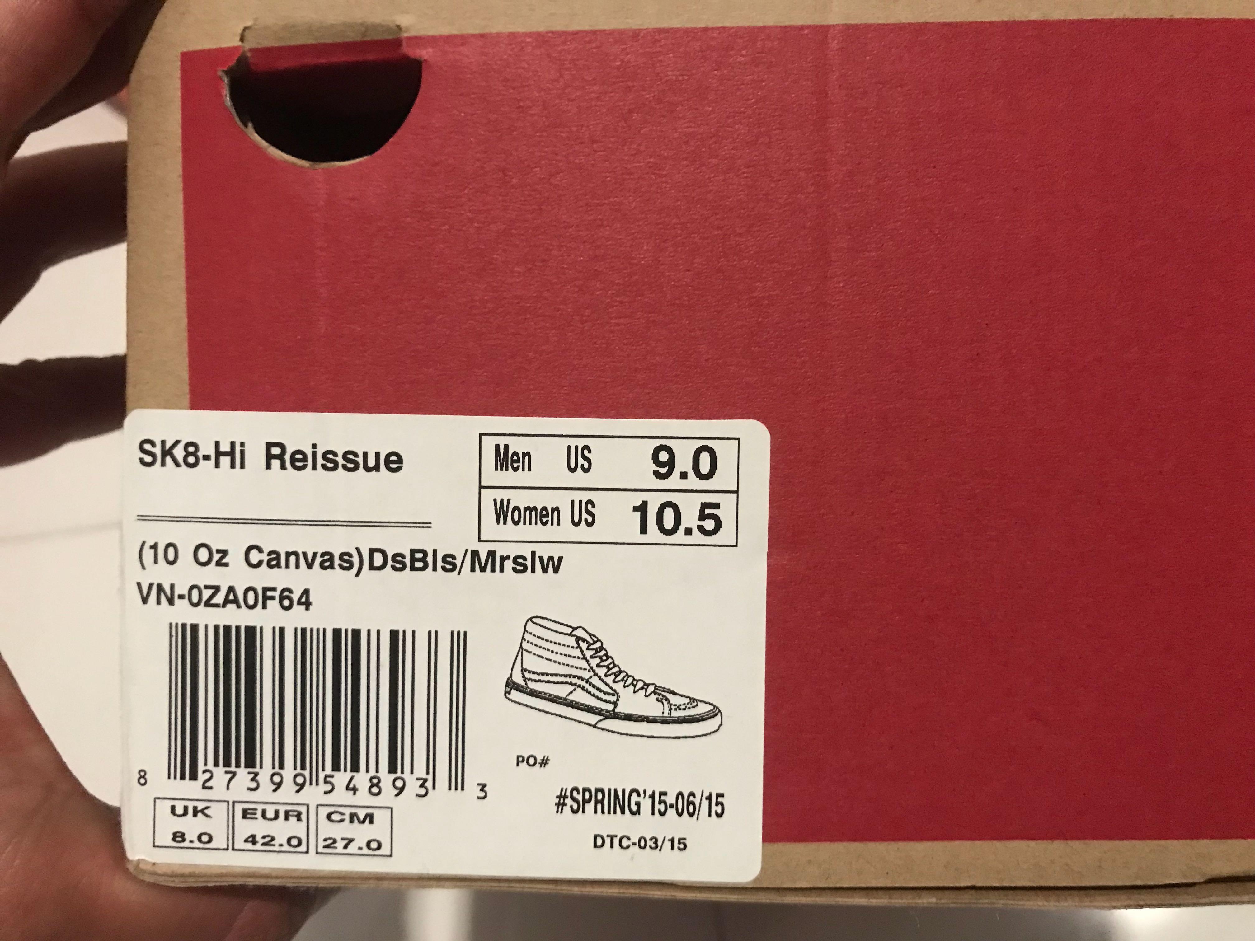 7613fbffb3 Vans shoe(SK8-Hi)
