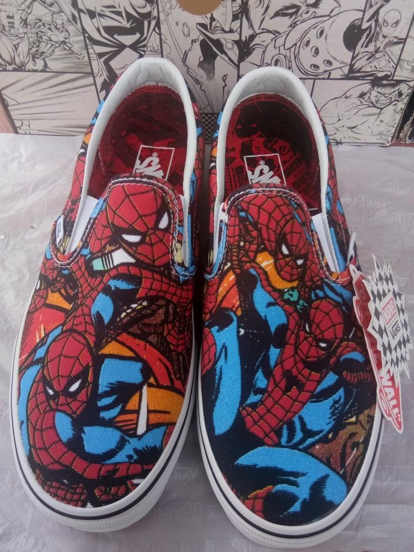 af312c257947 Vans X Marvel Spider-Man Slip On Original BNIB with tag