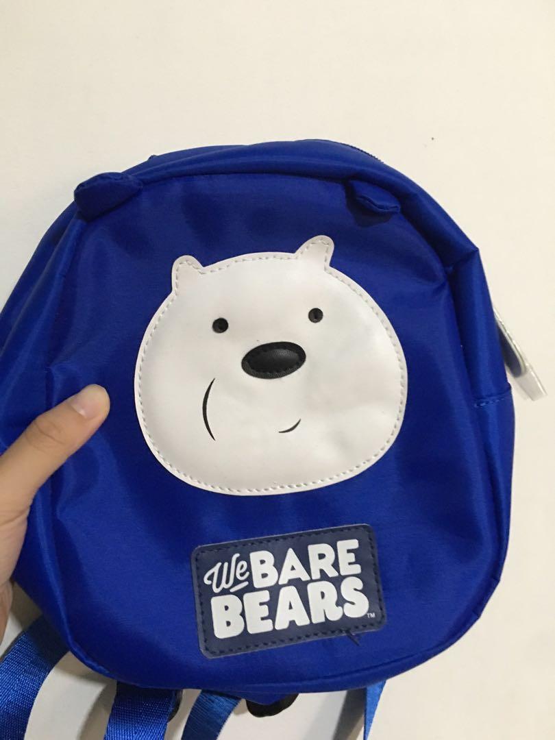 6db513825e0b7d We bare bears ice bear backpack, Women's Fashion, Bags & Wallets ...
