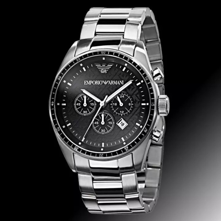 timeless design 8bf0b 8e046 👉YEAR END SALE👈Emporio Armani Sportivo Men's Stainless Steel Strap Watch