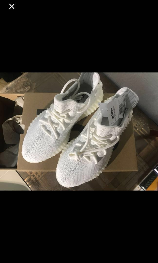size 40 00886 cbfe2 Yeezy 350 Cream Triple White