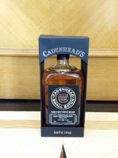 識貨之選 Cadenhead Glen Spey Glenlivet 22 Yr 57.9% 70cl Single Malt Whisky 蘇格蘭裝瓶廠單一麥芽威士忌