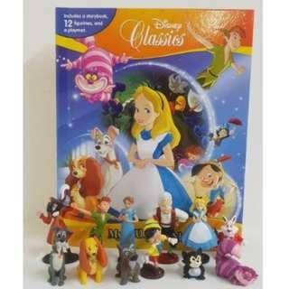 BN: Disney Classics My Busy Books including 12 Figurines and Playmat