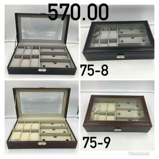 9 Slots Watch/Jewelry Box Organizer